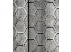 Paraván - Platinum cubes [Room Dividers]